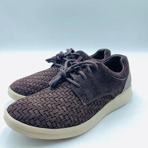 UGG energ Treadlite Men's Brown weaved shoes sz 8